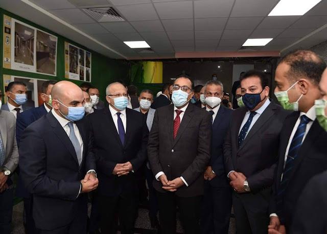 رئيس الوزراء يتفقد أعمال إعادة تأهيل مباني المعهد القومي للأورام وتطوير خدماته