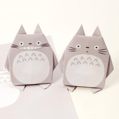 Printable Totoro Origami
