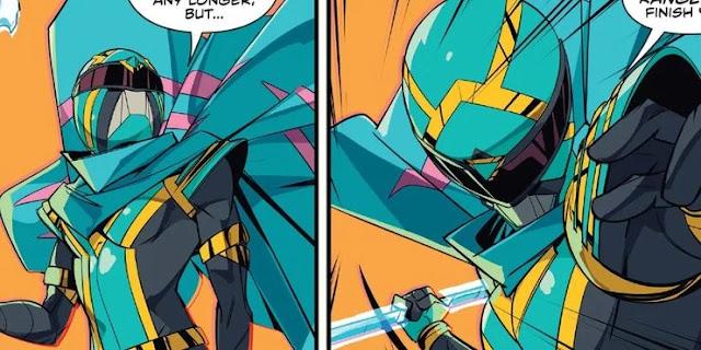 Kiya, the Betrayed Power Ranger!