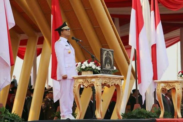 Perayaan HUT RI Di Pulau Reklamasi, Anies: Ini Lahan Milik Republik Indonesia