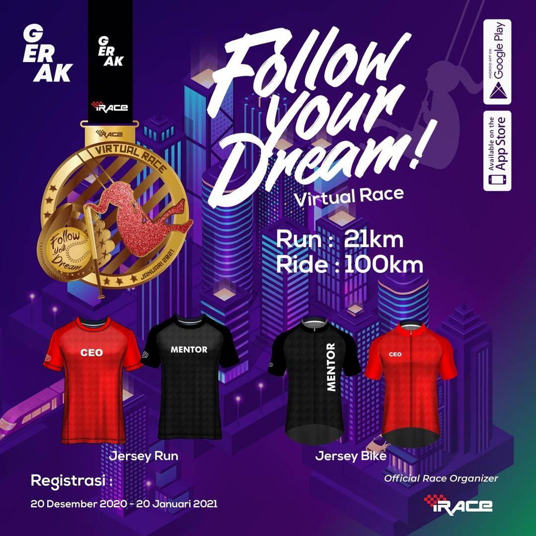 Follow Your Dream Virtual Race • 2021
