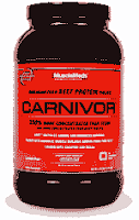 Carnivor Beef Protein Isolate افضل انواع البروتين للضخامه