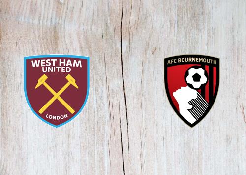 West Ham United vs AFC Bournemouth -Highlights 1 January 2020