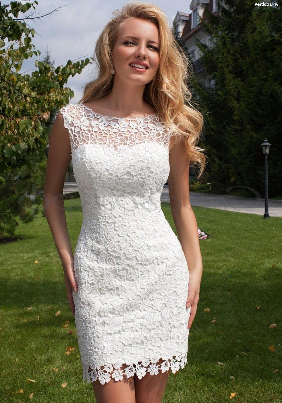8875ced74 de 52 Vestidos de Encaje  Cortos