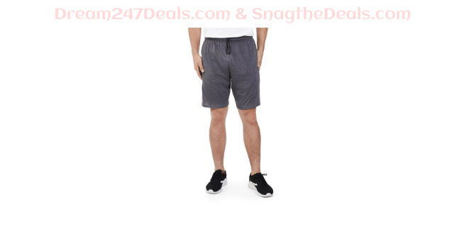 Fruit of the Loom Men's Cotton Blend Shorts w/ Pockets & Drawstring