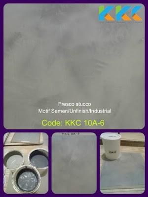 Jual Bahan Cat Fresco Motif Semen KKC 10A-6