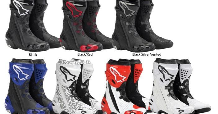 Ah Hong Motorsport Alpinestars Supertech R Boot Original