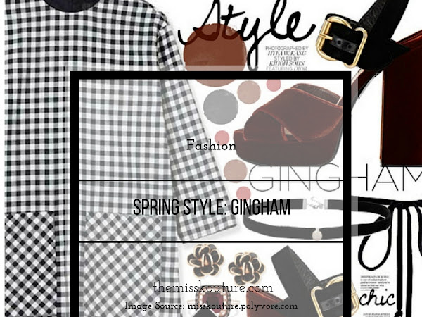 Spring style: Gingham