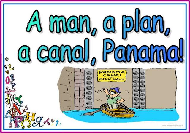 A man, a plan, a canal; Panama