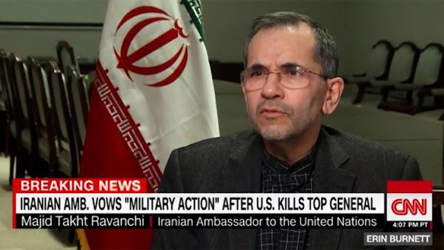كيف سترد إيران على مقتل سليماني؟ هكذا أجاب سفير طهران بالأمم المتحدة