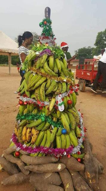 christmas tree in Biafran