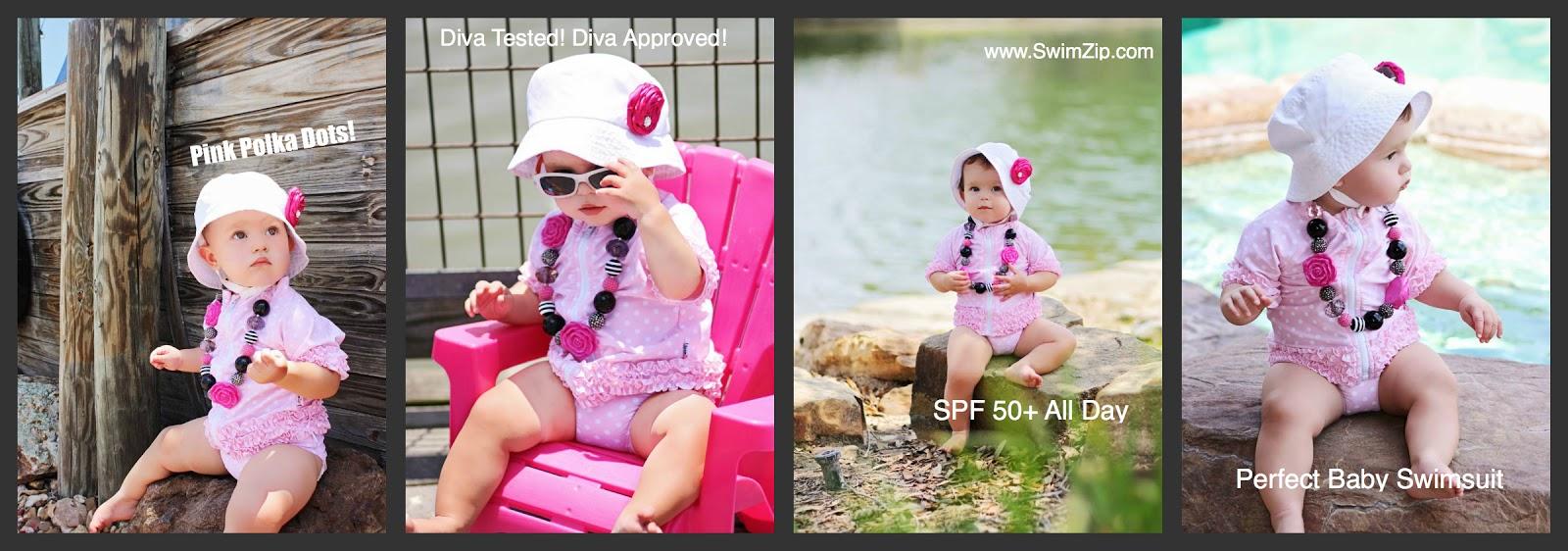 b693be8f3922a Stylish UPF 50+ Rash Guard Swimsuits and Swimwear by SwimZip: Baby ...