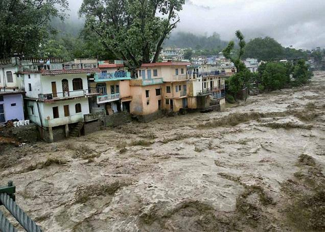 Uttarakhand Flood Glacier Bursts In India Triggering Flash Floods