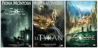 La Trilogie Valisar de Fiona McIntosh