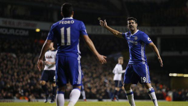 Diego Costa Marah-Marah ke Pedro