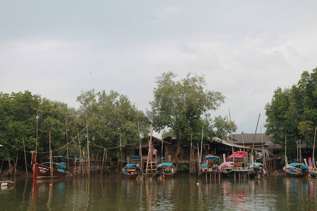 Krabi River Fishing Village