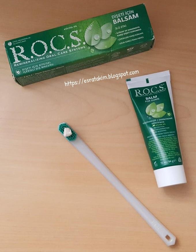 Rocs Diş Eti İçin Balsam 3'lü Etki