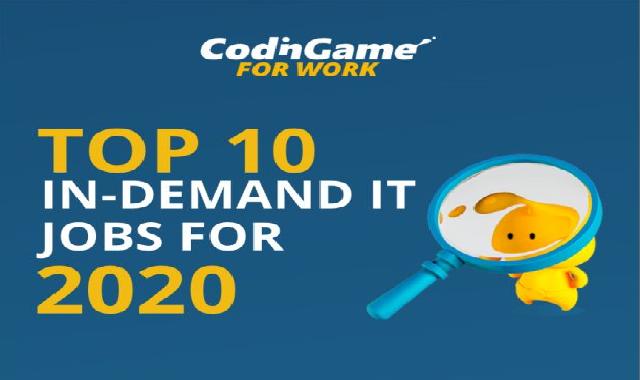 Top 10 In-Demand IT Jobs in 2020 #infographic