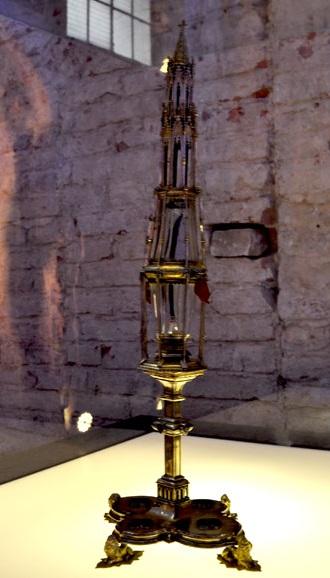 Καρφί της Σταύρωσης στην εκκλησία Santa Maria della Scala, Siena.