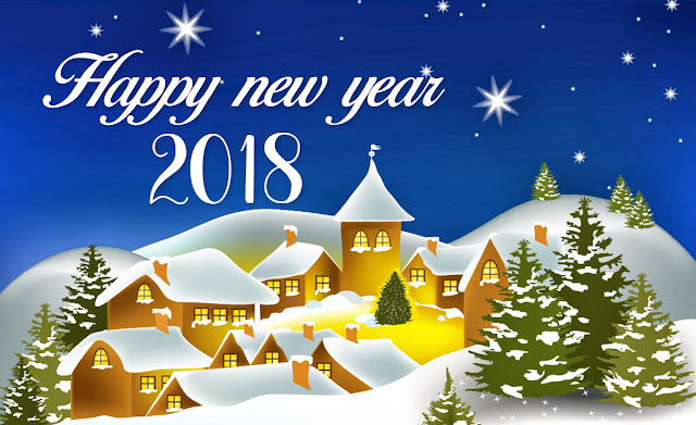 Happy New year 2018 Greetings