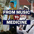 From Music to Medicine: Two USU Graduates March to the Tune of a New Career