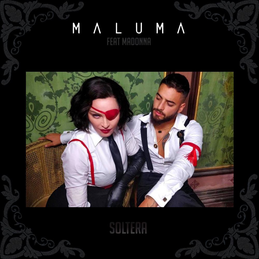Soltera+-+Maluma+ft+Madonna+by+Luca+Parr