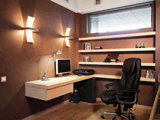 Build a working space in a minimalist Home