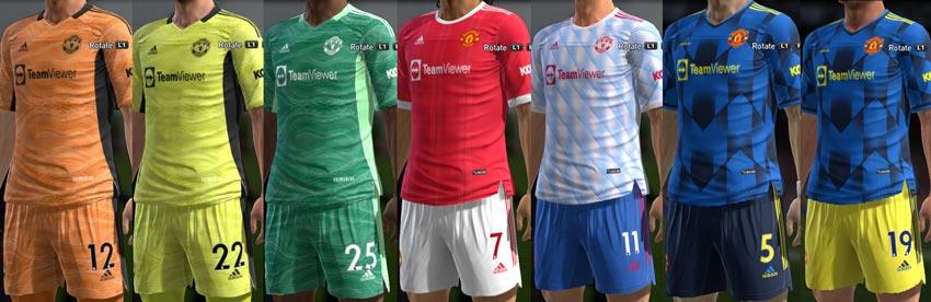 Manchester United Kit 2021-2022 For PES 2013
