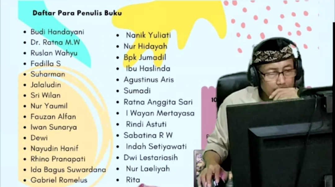 Launching Buku Karya tutor hebat FTPKN Vikomtara18