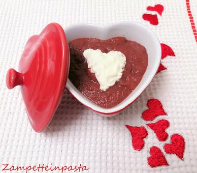 Vellutata di rape rosse - Ricetta San Valentino