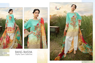 Shree Fab Rang Rasiya Digital Lawn Collection Nx Pakistani Suits