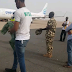 Medview Security Guard Assaults NYSC Members At The Airport After Their Flight Was Overbooked  (Photos/Video)