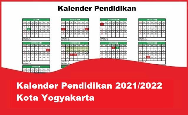 kalender pendidikan yogyakarta
