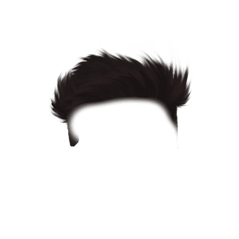 Men CB Hairstyle PNG For Picsart Free Stock [ Download Now ]