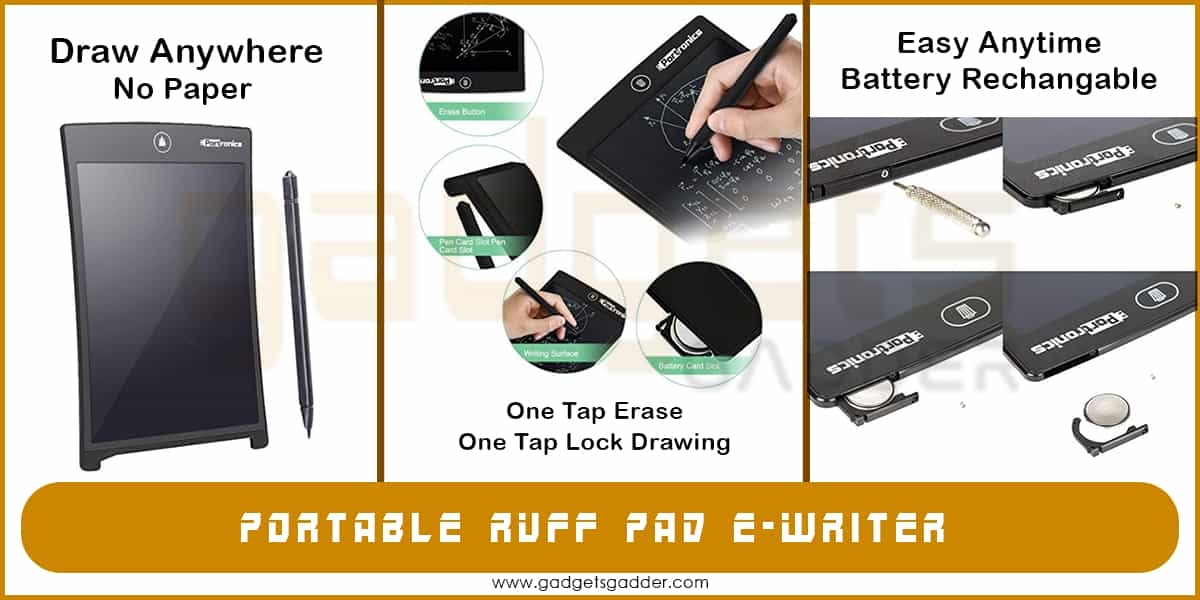 portable tablet for writing
