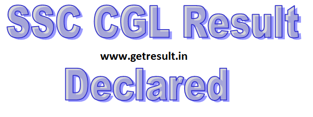 SSC CGL Result 2014