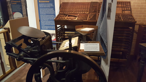 Printing Press - Oklahoma History Center