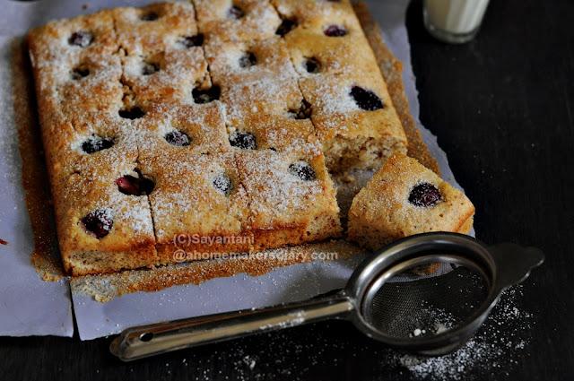 Cherry Cake Recipe Joy Of Baking: Cherry Almond Tray Bake