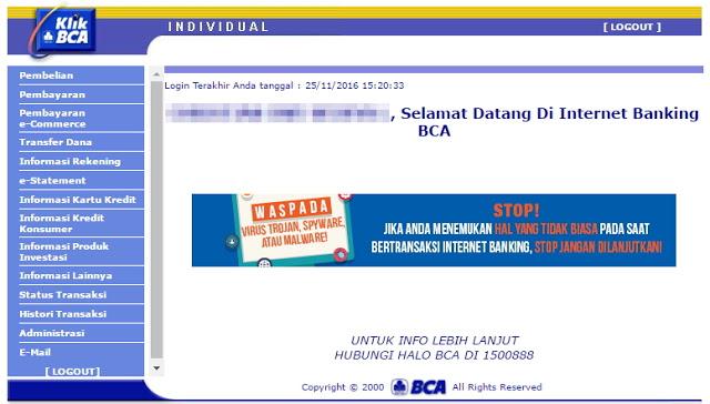 cara daftar internet banking bca 5