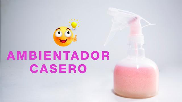 AMBIENTADOR CASERO PARA TEJIDOS