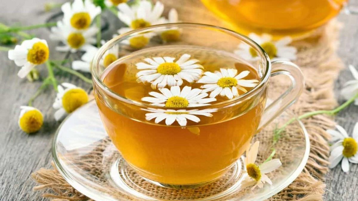 Một ly trà hoa cúc sẽ giúp cơ thể bạn ấm hơn vào mùa đông
