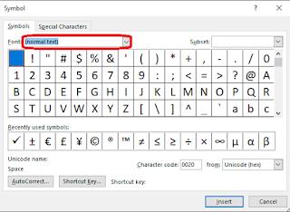 cara membuat simbol ceklis di ms.word