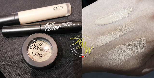 a photo Clio KILL COVER concealers