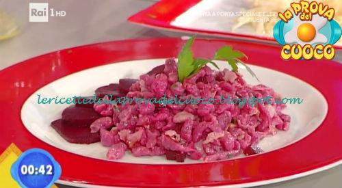 Spatzle rossi con prosciutto cotto ricetta Bertol da Prova del Cuoco