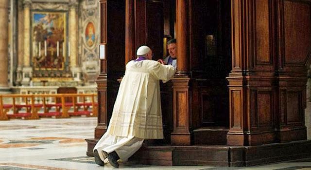 Existem 6 etapas do sacramento da Reconciliação