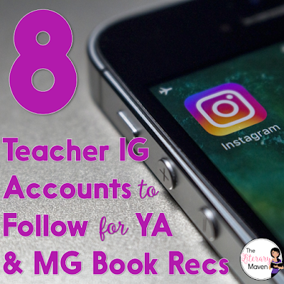 With so many great books out there, following Instagram accounts that highlight middle grade new titles to read and recommend to students.