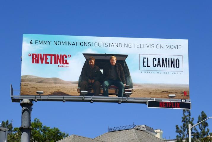 El Camino 2020 Emmy nominee billboard