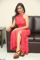 Sakshi Kakkar in Red Legsplit Sleeveless Gown at Dare movie Press meet ~  Exclusive 034.JPG