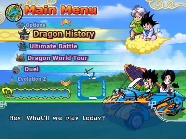 Capturas Dragon Ball Z PS2 BETA 3 Latino 2011