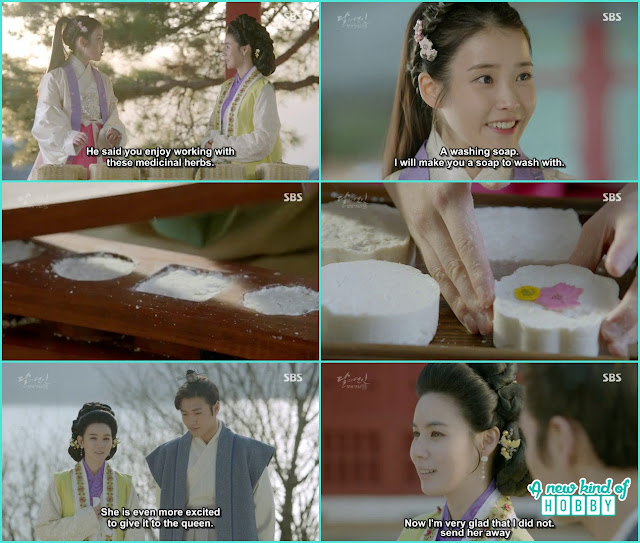 hae soo made soap in goryeo dynasty - Moon Lovers: Scarlet Heart Ryeo - Episode 5 Review